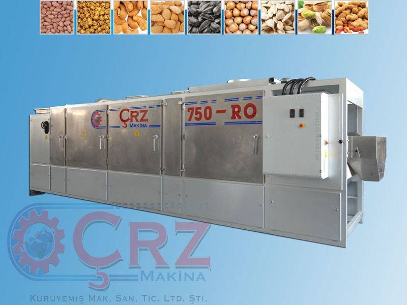CRZ750RO ROASTED NUTS MACHINE