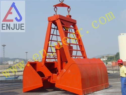 Radio/Wireless Remote Control Grab for Bulk/Cargo Material