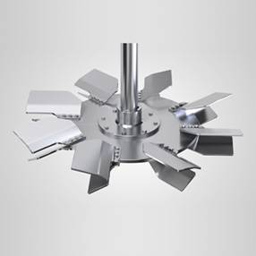 mixing equipment gas turbine impeller