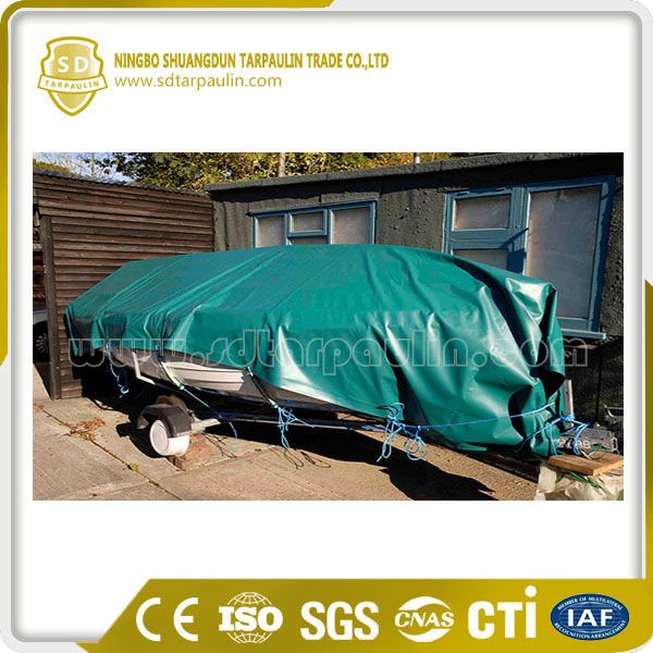 Economical Waterproof Poly Boat Cover Tarp