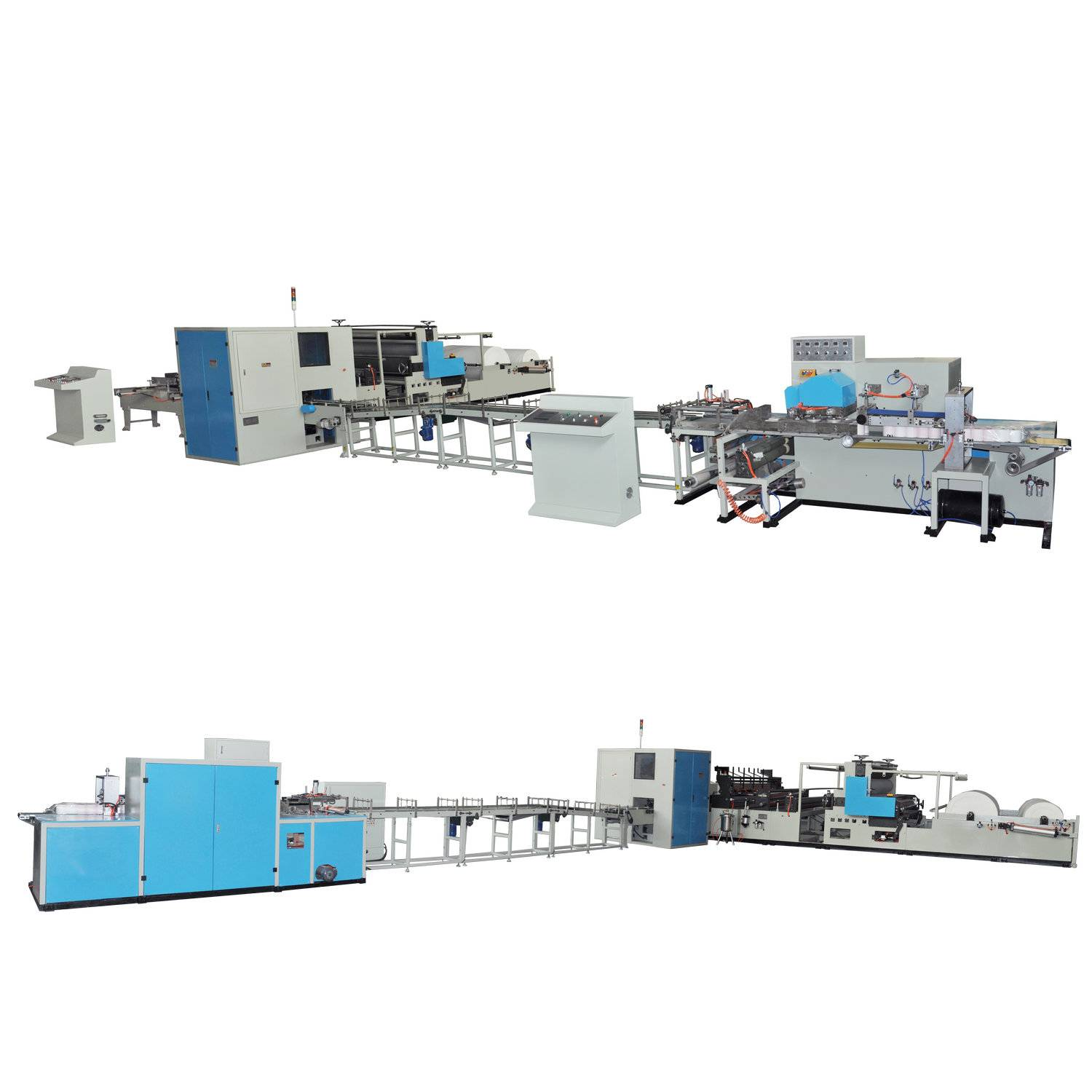 XY-TQ-A-B Full automatic kitchen towel paper production line