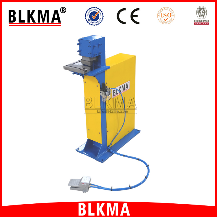 1.2mm thinkness pneumatic notching machine/angle cutting machine