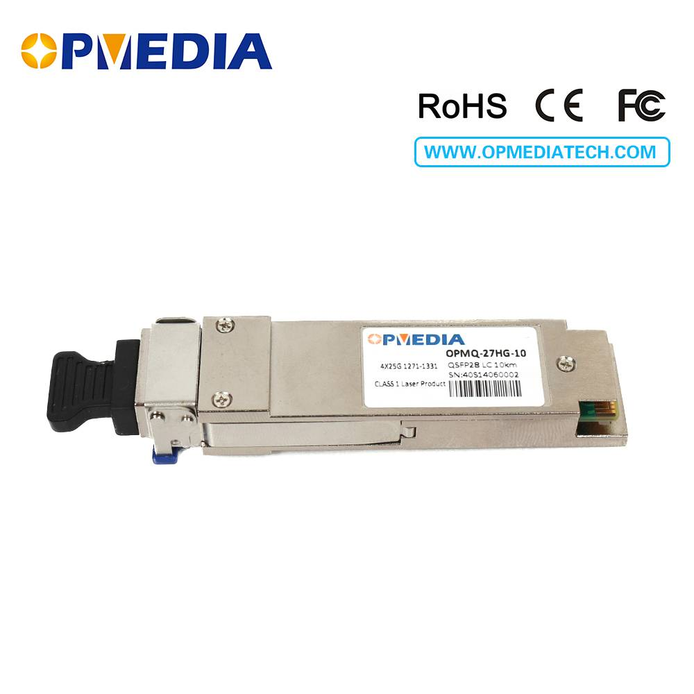 100G QSFP28 LR4 optical transceiver