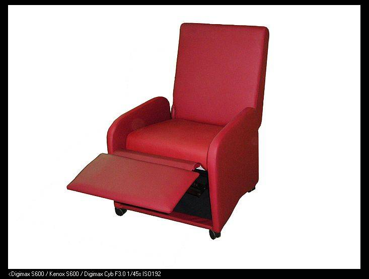 Push Back Teenage Recliner with Casters
