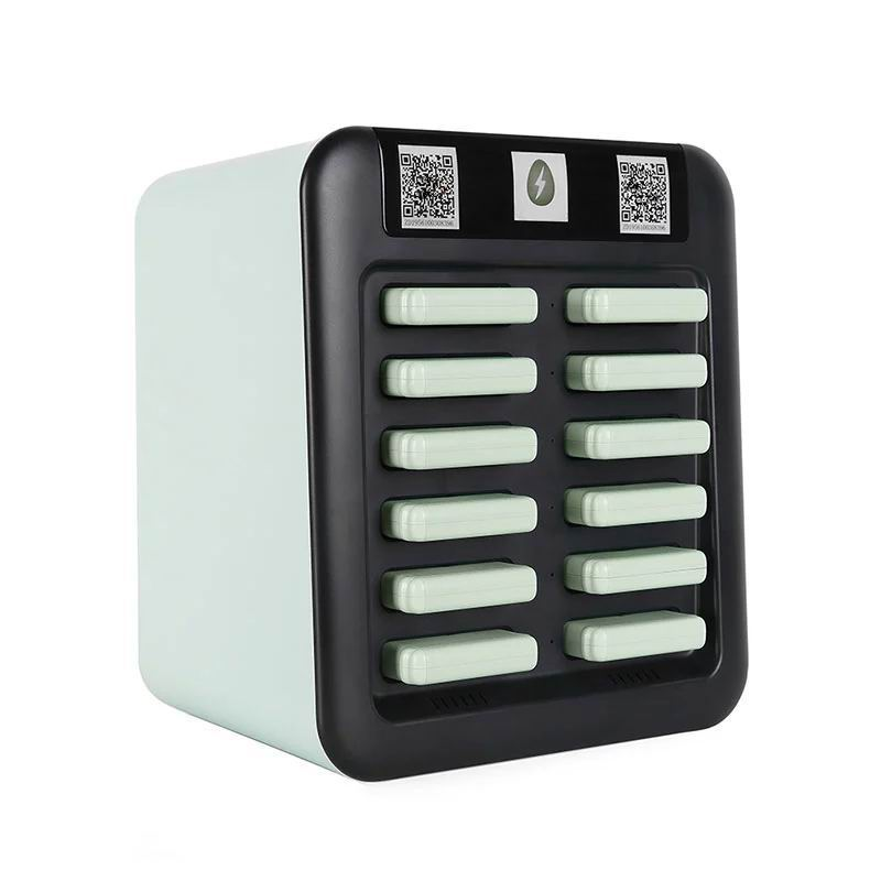 Shared Power Banks Kiosks with 12 Slots for Sharing Econmy Use in Restaurant, Bars, Hotels Rental