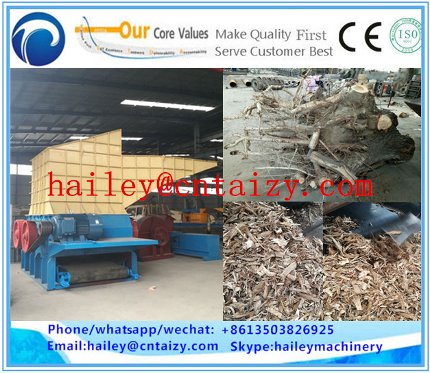 Mobile Root Crusher Electric Stump Chipper Diesel Wood Shredder