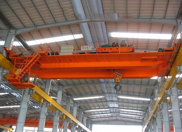 Warehouse used QD model double beams workshop construction overhead crane