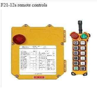 F21-12s remote controls