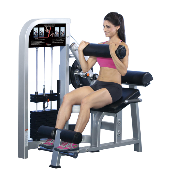 Back Extension/Ab Crunch Training Equipment Multi Station Home Exercise Machine