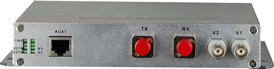 1-8 channel aduio fiber transceiver