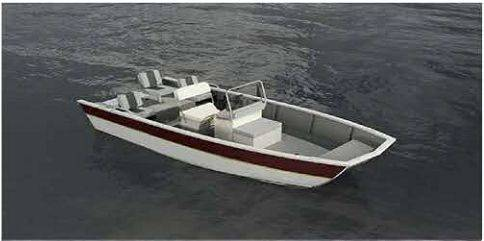 2016 New tye 7.2m fishing boat-using super plastic alloy materials