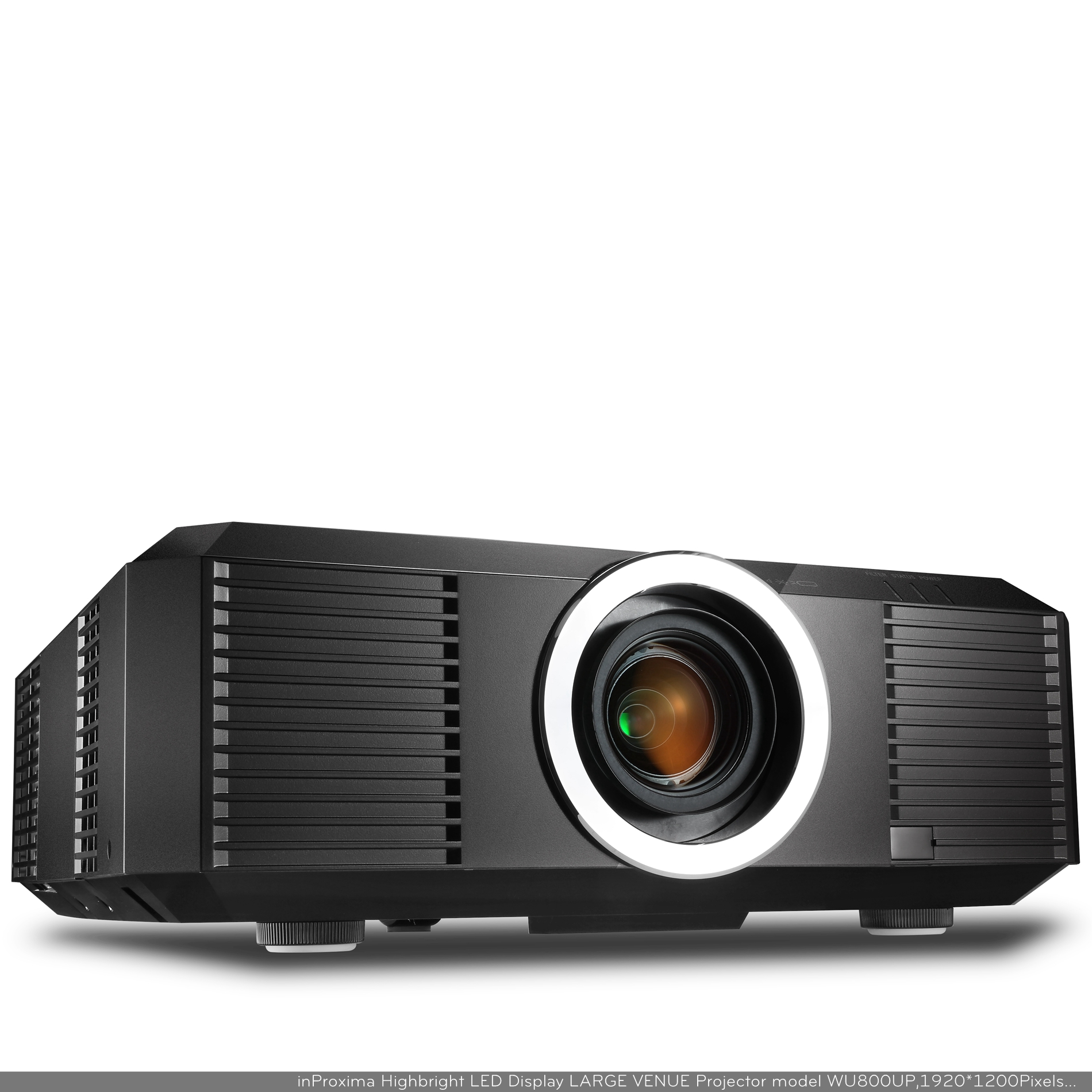 inProxima WU800UP 10000 Lumens WUXGA 1920 x 1200P 3LCD Large Venue Projector for Stage or Advertisin