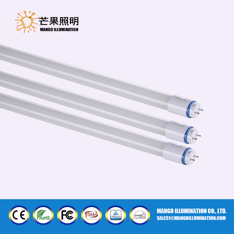 Best selling AC100-277V UL standard T8 LED tube with 3 years warranty
