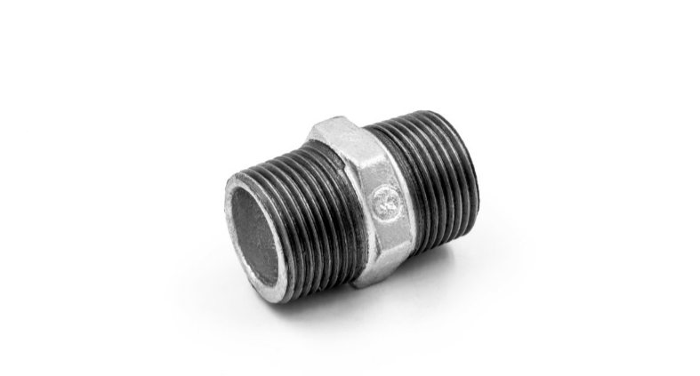China Malleable iron pipe fitting Nipple-280 with high quality and proper price