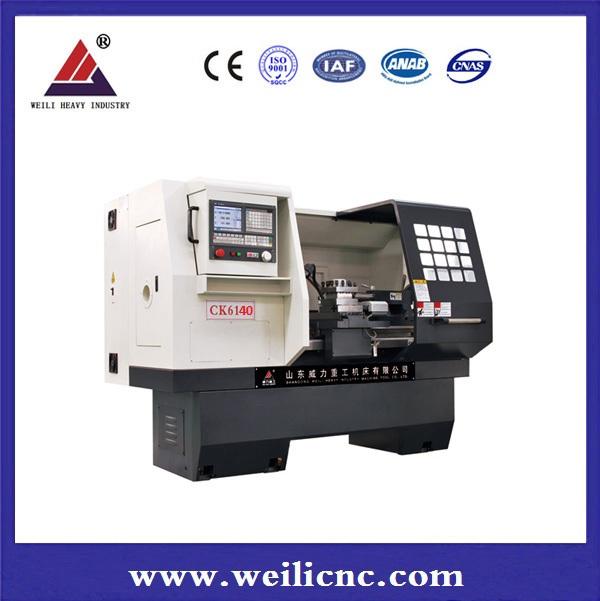 Linear or boxway flat-bed CNC Lathe CK6140E