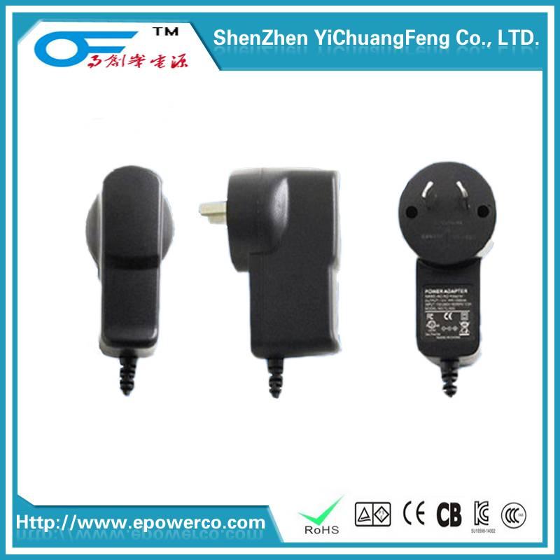 Power Adapter 19V2A15V2.5A9V3A24W 24V1A CEGAFCCULSAAKC certified Power supply & Germany TUVGS certif