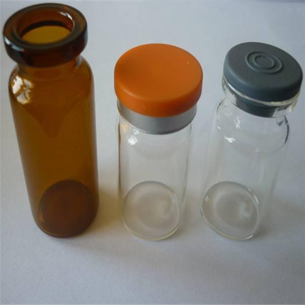 pencillin bottle vial with aluminum cap