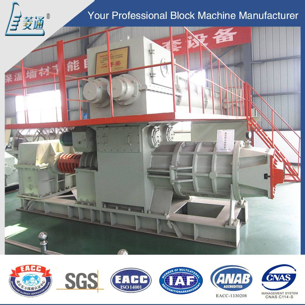 Fully Automatic Earth Hollow Paving Clay Brick Block Burning Making Machine Vacuum Forming Extruder