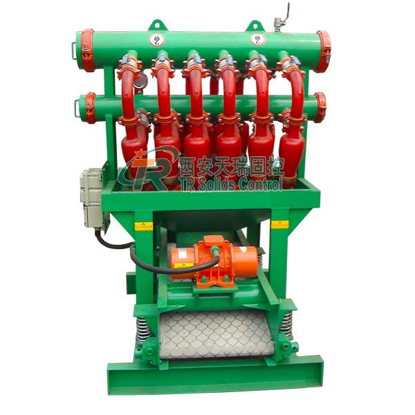 Drilling Mud Desilter with Clamp Connection of Cyclone ,Hydrocyclone Equipement Trenchless Micro - T