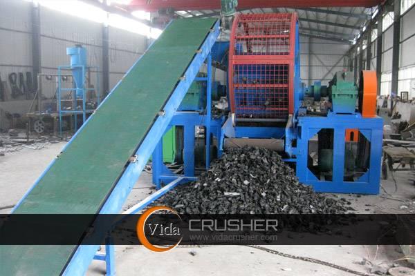 Rubber/Plastic Shredding Machine