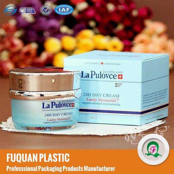 15ml/20ml/30ml/50ml Elegant Blue Acrylic Cosmetic Jars