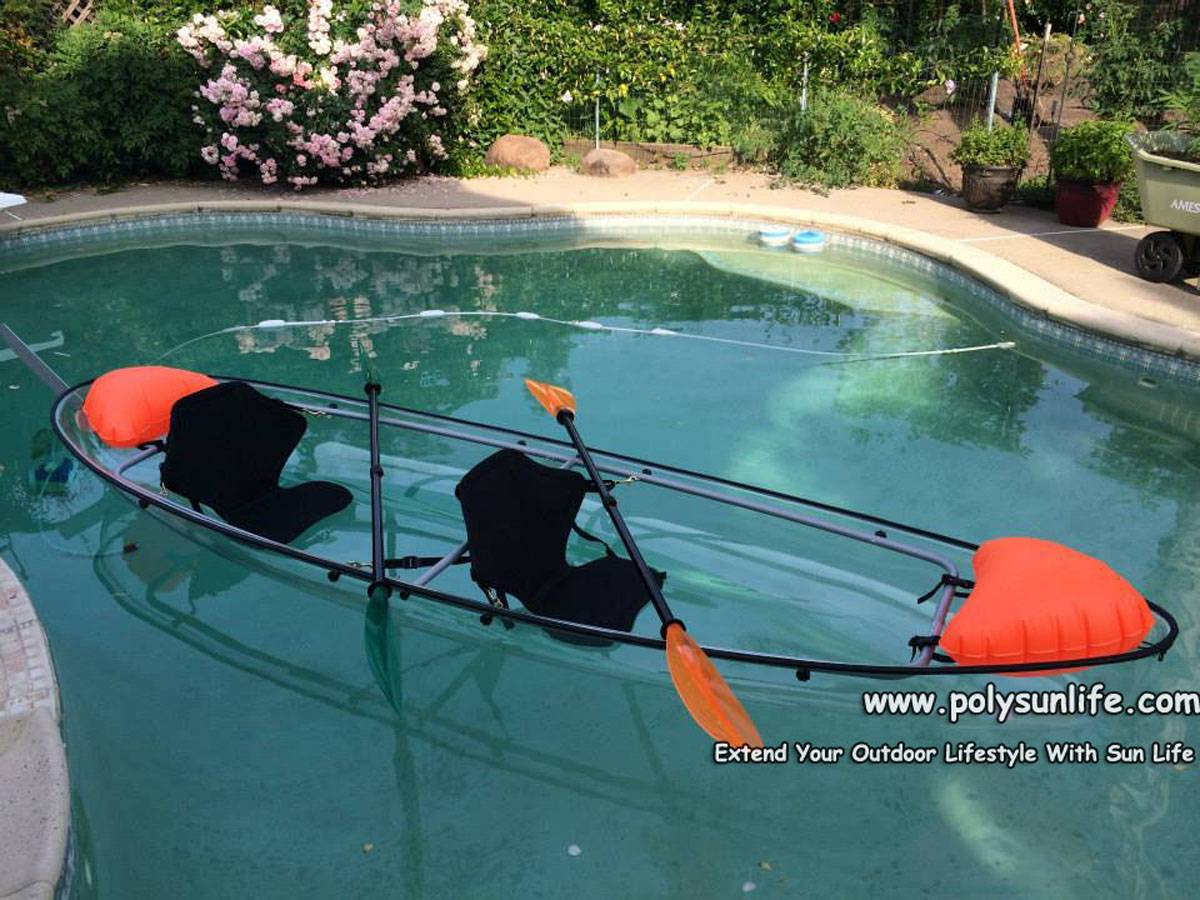 Amzing  Clear Kayak Canoe for Sale in 2015 Summer