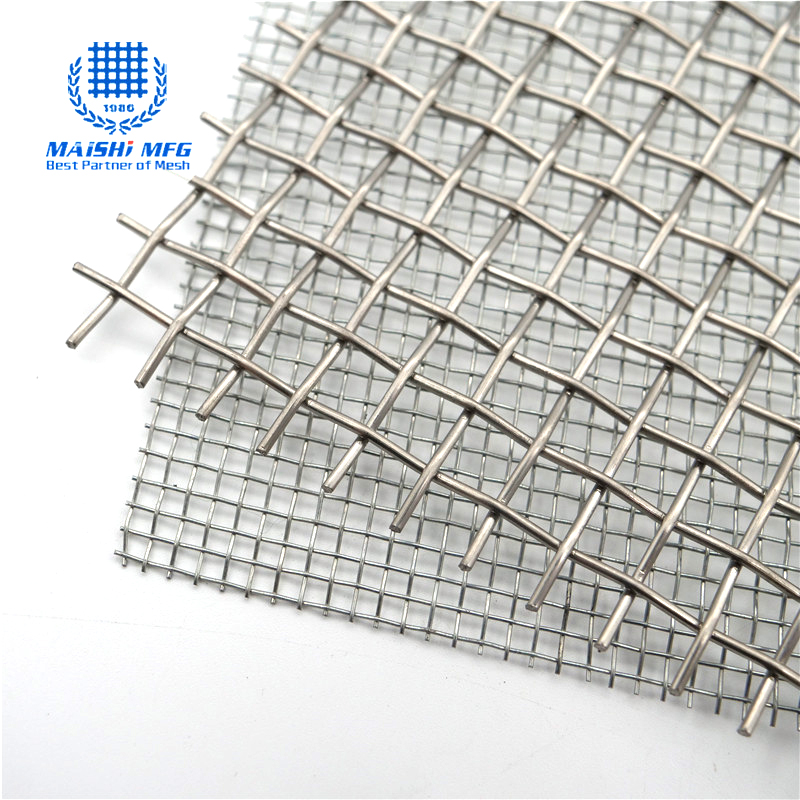 Customized crimped woven stainless steel decoration screen
