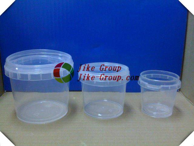 Cookies plastic container plastic cookies container Food grade 1 gallon clear Plastic pail Bucket
