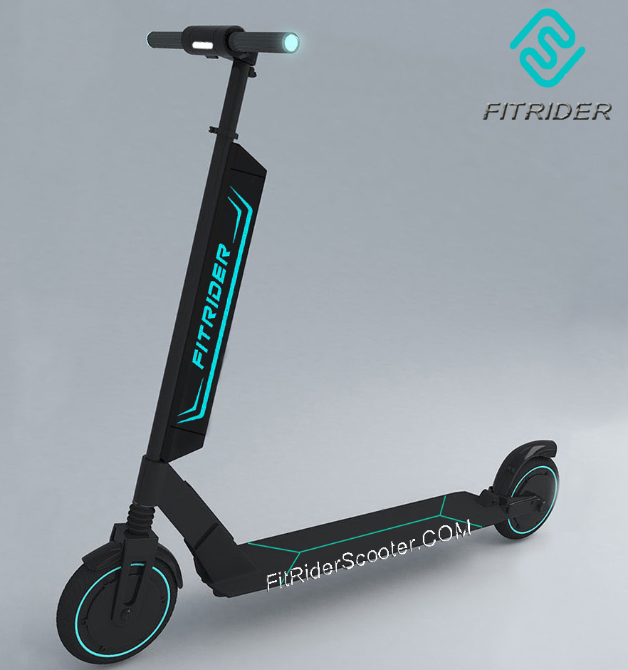 New Fitrider Scooter T1S Model with quick released battery