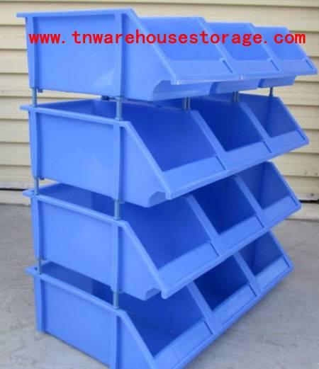 plastic Storage Bins,Stackable storage bin for small parts