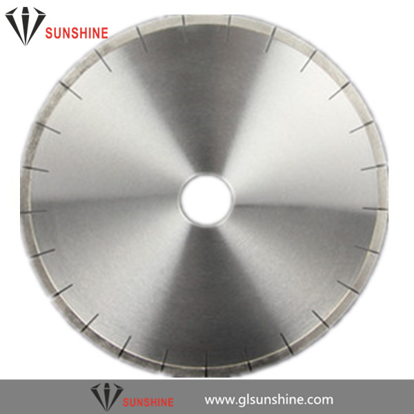 300mm 350mm 400mm silver welding diamond saw blade for Granite edge cutting