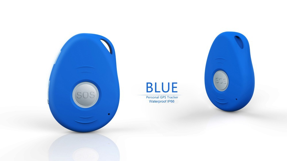 Portable 3G personal mini GPS tracker with SOS button voice communication 2-way