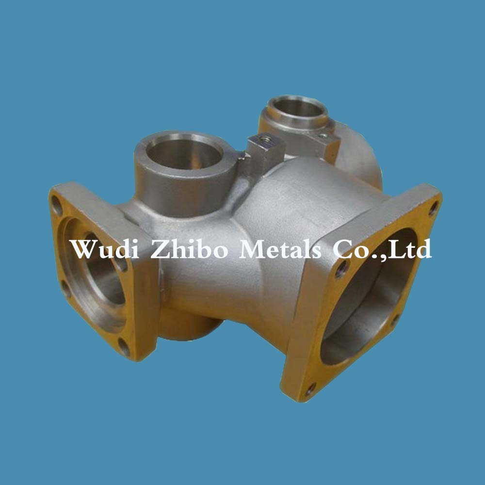 OEM casting different shape stainless steel pipe fitting casting as per drawing