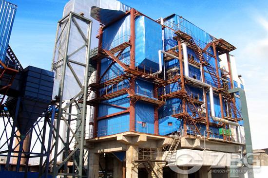Biomass fired CFB boiler
