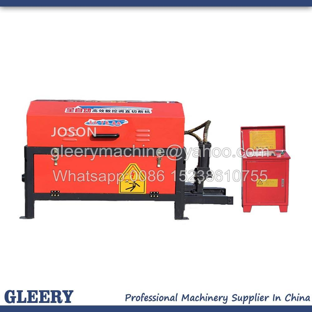 GT4-10/12 CNC Automatic Rebar straightening & cutting machine