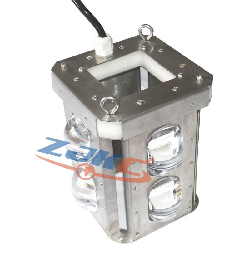 200w IP68 underwater 12v led green fishing light stick squid fishing light