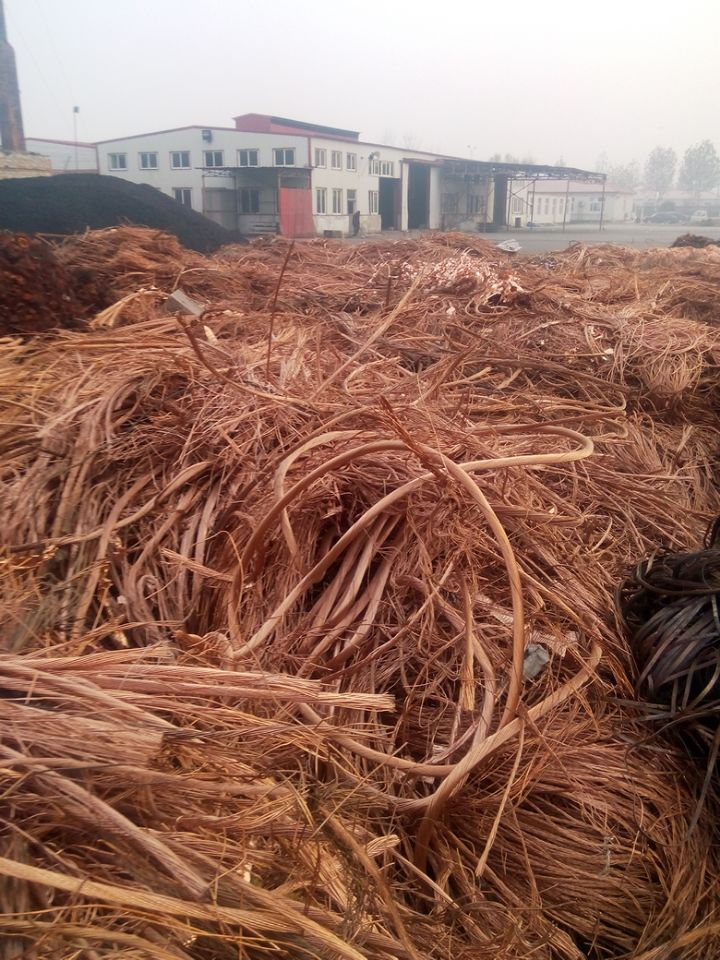 Sell Grade A Copper scrap 99.999% purity