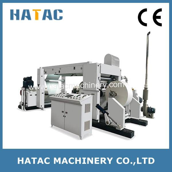 High Speed Paper Slitting and Rewinding Machine