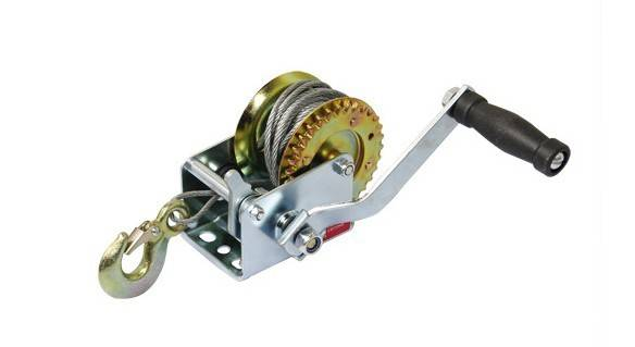 High Quality Hand Tool Hand Winch with Cable 600lbs-3000lbs