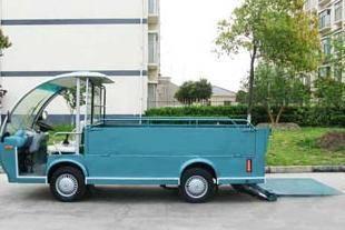 Electric sanitation car