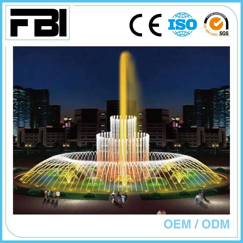 15m rectangle dancing foutnain fountain, china entertaining jumping fountain