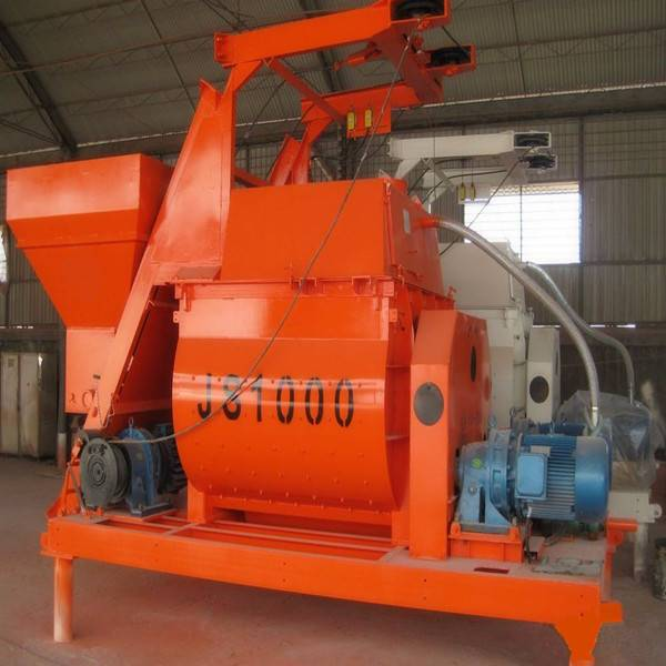 New design hydraulic electric motor concrete mixer