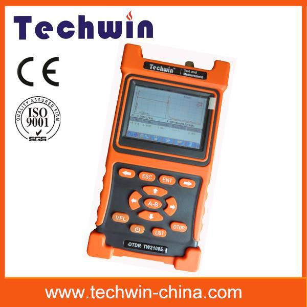Techwin perfect mini fiber otdr test TW2100E