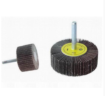 Good Quality Mounted Abrasive Flap Wheel With Shaft