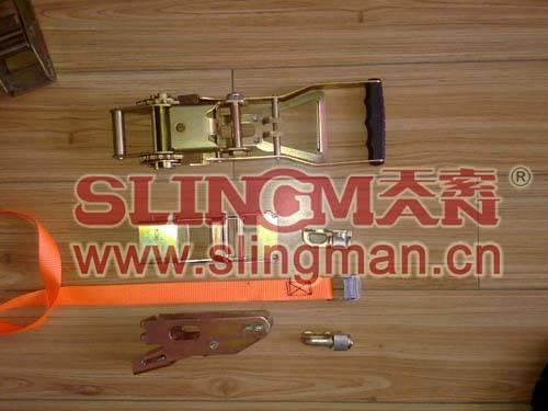 China supplier 3ton 4ton 5ton 7500kg ergo ratchet lashing straps tie down web lashing