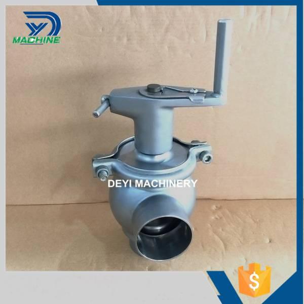 Sanitary Stainless Steel Manual Divert Valve