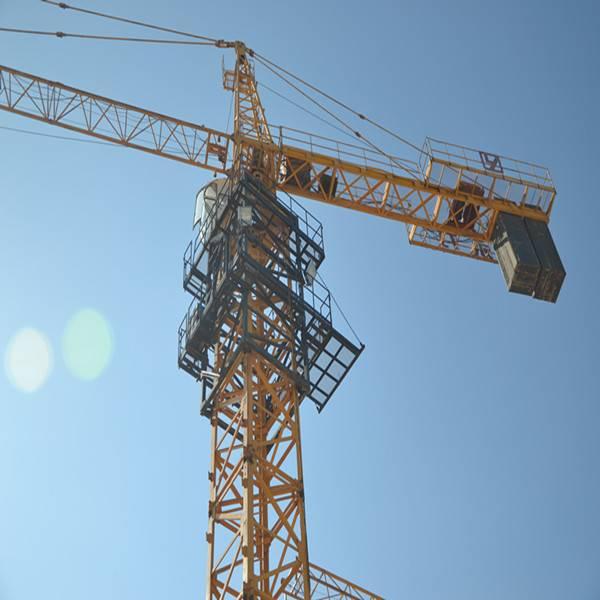 QTZ160 10ton tower crane price