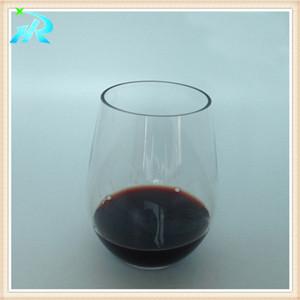 8 OZ unique monogrammed plastic martini wine glass charms