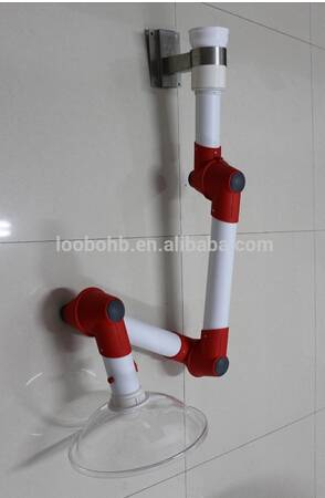 Multiple joints PP type flexible extraction arm for  laboratory use