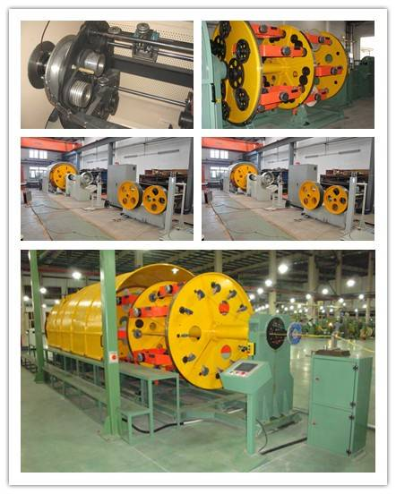 300/400/500/630Cage Type Twisting Machine